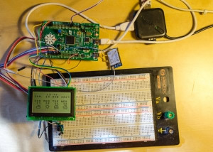 Creating weather station using STM32F3DISCOVERY and WizFi220 Wi-Fi module